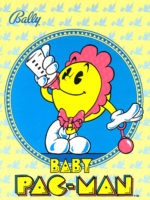Baby Pac-Man — 1982 at Barcade® in Newark, New Jersey | arcade video game