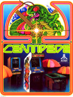 Centipede — 1981 at Barcade® in Newark, New Jersey | arcade video game