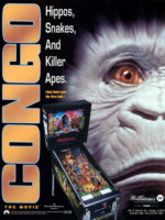 Congo The Movie (pinball) — 1995 at Barcade® in Newark, New Jersey | pinball