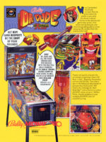 Dr. Dude And His Excellent Ray (pinball) — 1990 at Barcade® in Newark, New Jersey | pinball