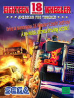 18 Wheeler Am Pro Trucker — 2000 at Barcade® in Newark, New Jersey | arcade video game