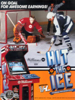 Hit the Ice — 1990 at Barcade® in Newark, New Jersey | arcade video game