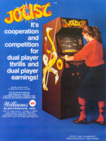 Joust — 1982 at Barcade® in Newark, New Jersey | arcade video game