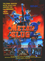 Metal Slug 2 — 1998 at Barcade® in Newark, New Jersey | arcade video game