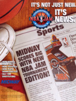 NBA Jam Tournament Edition — 1994 at Barcade® in Newark, New Jersey | arcade video game