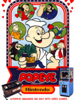 Popeye — 1982 at Barcade® in Newark, New Jersey | arcade video game