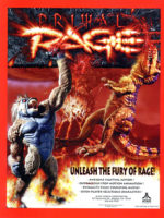 Primal Rage — 1994 at Barcade® in Newark, New Jersey | arcade video game