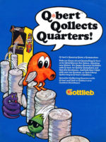 Q*Bert — 1982 at Barcade® in Newark, New Jersey | arcade video game