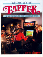 Tapper — 1984 at Barcade® in Newark, New Jersey | arcade video game