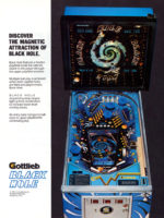 The Black Hole (pinball) — 1981 at Barcade® in Newark, New Jersey | pinball