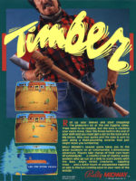 Timber — 1984 at Barcade® in Newark, New Jersey | arcade video game