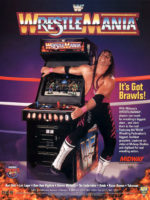 WWF Wrestle Mania — 1995 at Barcade® in Newark, New Jersey | arcade video game