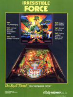 Special Force (pinball) — 1986 at Barcade® in Newark, New Jersey | pinball