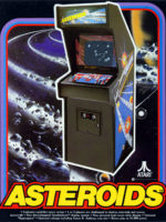 Asteroids — 1979 at Barcade® in Newark, New Jersey | arcade video game