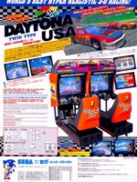 Daytona USA (Twin) — 1994 at Barcade® in Newark, New Jersey | arcade video game