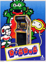 Dig Dug — 1982 at Barcade® in Newark, New Jersey | arcade video game