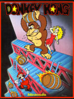 Donkey Kong — 1981 at Barcade® in Newark, New Jersey | arcade video game