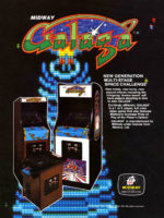 Galaga — 1981 at Barcade® in Newark, New Jersey | arcade video game