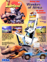 Jambo! Safari — 1999 at Barcade® in Newark, New Jersey | arcade video game