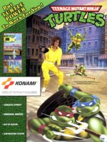 Teenage Mutant Ninja Turtles — 1989 at Barcade® in Newark, New Jersey | arcade video game