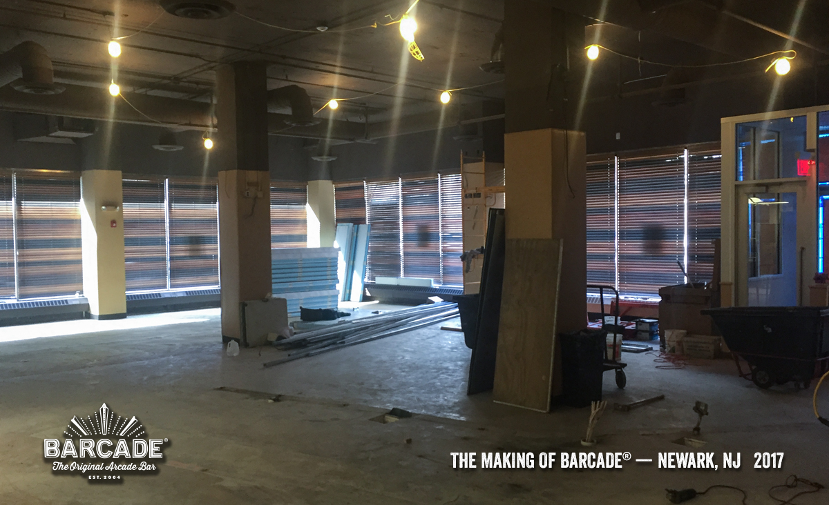 Making of Barcade® in Newark, NJ | a photo link to the Flickr gallery