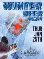 Winter Beer Night — January 25, 2018 at Barcade® in Newark, New Jersery