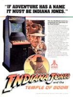 Indiana Jones and the Temple of Doom — 1985 at Barcade® in Newark, New Jersey | arcade video game