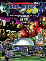 NFL Blitz '99 — 1999 at Barcade® in Newark, New Jersey | arcade video game