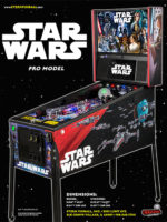 Star Wars (pinball) — 2017 at Barcade® in Newark, New Jersey | pinball