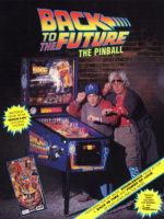 Back to the Future (pinball) — 1990 at Barcade® in Newark, New Jersey | pinball
