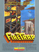 Fire Trap — 1986 at Barcade® in Newark, New Jersey | arcade video game