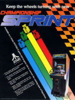 Champion Sprint — 1986 at Barcade® in Newark, New Jersey | arcade video game
