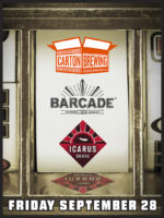 Carton Brewing Co. and Icarus Brewing Night – September 28, 2018 at Barcade® in Newark, New Jersey