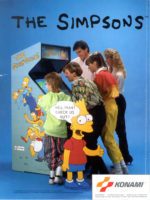 The Simpsons — 1991 at Barcade® in Newark, New Jersey | arcade video game