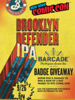 Brooklyn Defender Pint Night — September 26, 2018 at Barcade in Newark, NJ