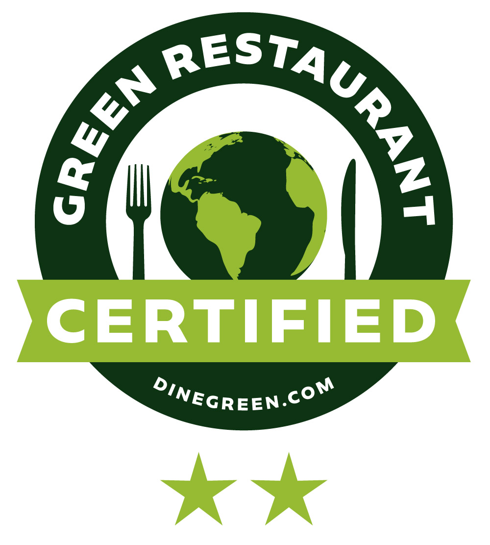 Barcade Newark is a 2 Star Certified Green Restaurant®