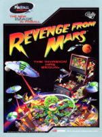 Revenge From Mars (pinball) — 1999 at Barcade® in Newark, New Jersey