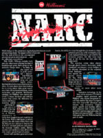 NARC — 1988 at Barcade® in Newark, New Jersey | arcade video game flyer