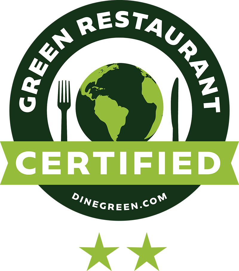 Barcade | Green Restaurant Association Certified Logo Two Star | Dinegreen.com