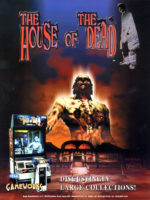 The House of the Dead — 1997 at Barcade® in Newark, New Jersey | arcade game flyer