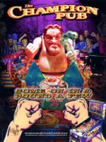 Champion Pub (pinball) — 1998 at Barcade® in Newark, New Jersey | arcade game flyer
