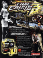 Time Crisis 3 — 2002 at Barcade® in Newark, New Jersey | arcade game flyer
