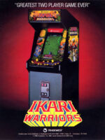 Ikari Warriors — 1986 at Barcade® in Newark, New Jersey | arcade game flyer