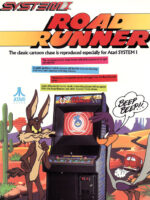 Road Runner — 1986 at Barcade® in Newark, New Jersey | arcade game flyer